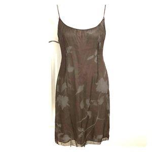 100% Silk Tahari Slip Dress